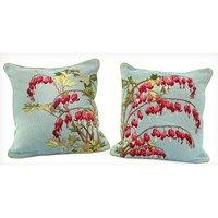 Bleeding Heart Decorative Pillows