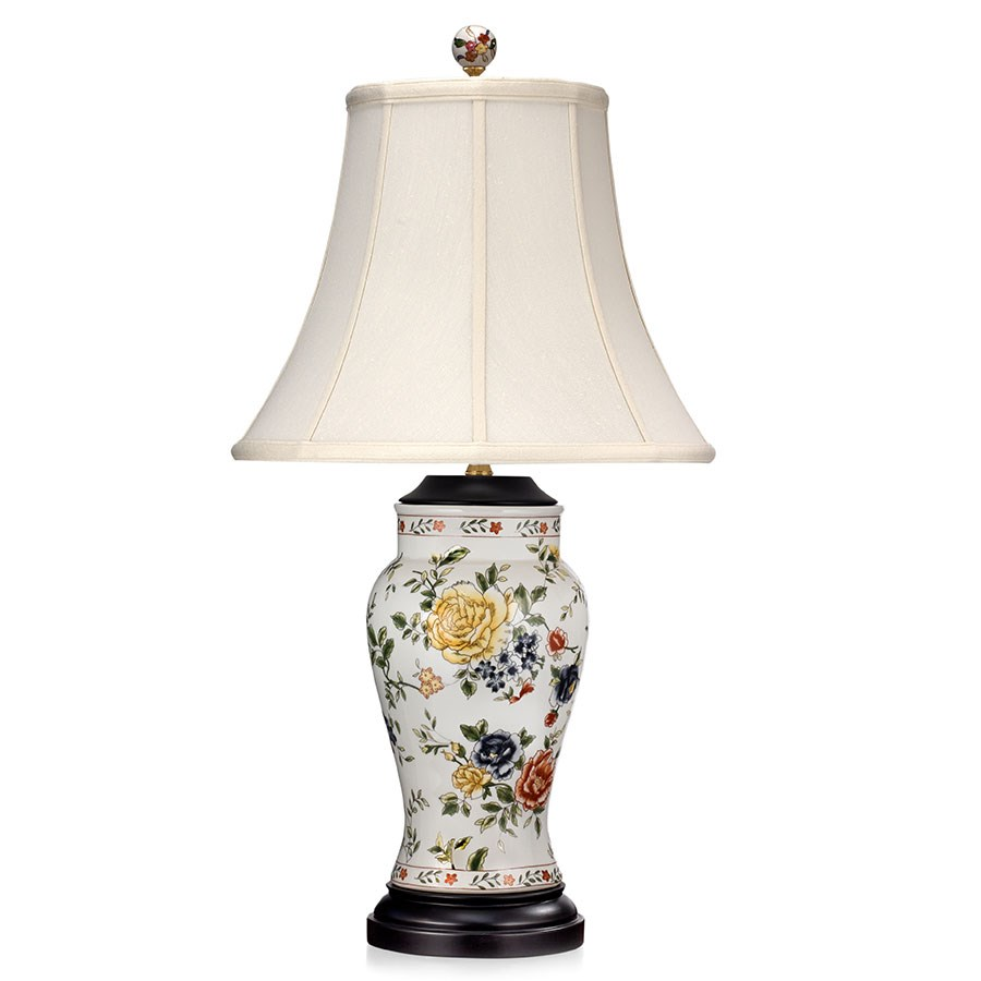 Peonies porcelain lamp table desk lamps lamps home decor click to expand reviewsmspy