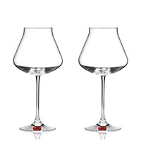Chateau Baccarat XL Glass, Red Seal, Set of Two