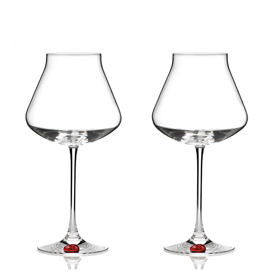 chateau baccarat xl glass red seal set of two baccarat. Black Bedroom Furniture Sets. Home Design Ideas