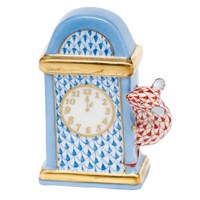 Herend Hickory Dickory Dock Figurine