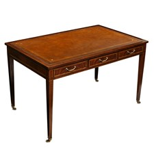 Crotch Mahogany Writing Desk