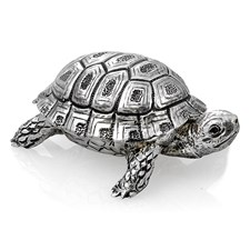 Sterling Silver Turtle Box