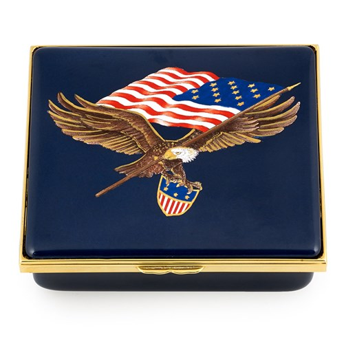 200th Anniversary Star Spangled Banner Enamel Box