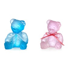 Daum Crystal Teddy Bears