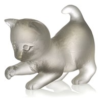 Daum 'Pate De Verre' Crystal Kittens (Assorted Colors & Styles)
