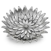 Buccellati Sterling Silver Anemone Flower Dish
