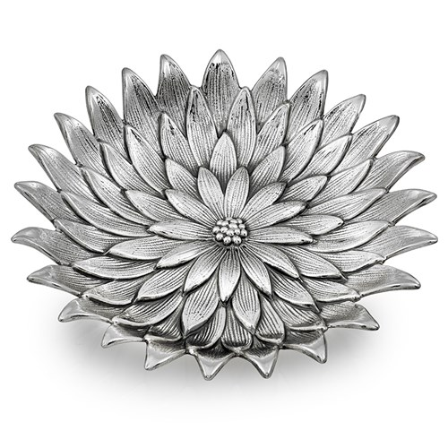 Buccellati Anemone Sterling Silver Flower Dish