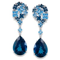 Brilliant Blue Cluster Drops
