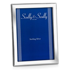 Beaded Sterling Silver Picture Frames