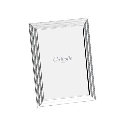 Christofle Filets Silverplated Picture Frames