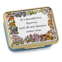 Halcyon Days If I Should Live Forever Enamel Box