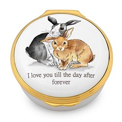 Halcyon Days 'I Love You Till The Day' Enamel Box