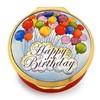 Halcyon Days Happy Birthday (Balloons) Enamel Box
