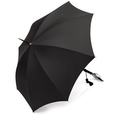 Nickel Duck Head Umbrella, Black