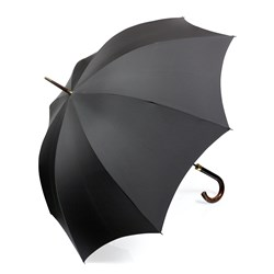 Single Horn Umbrella, Black