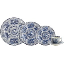 Mottahedeh Blue Torquay Dinner Set