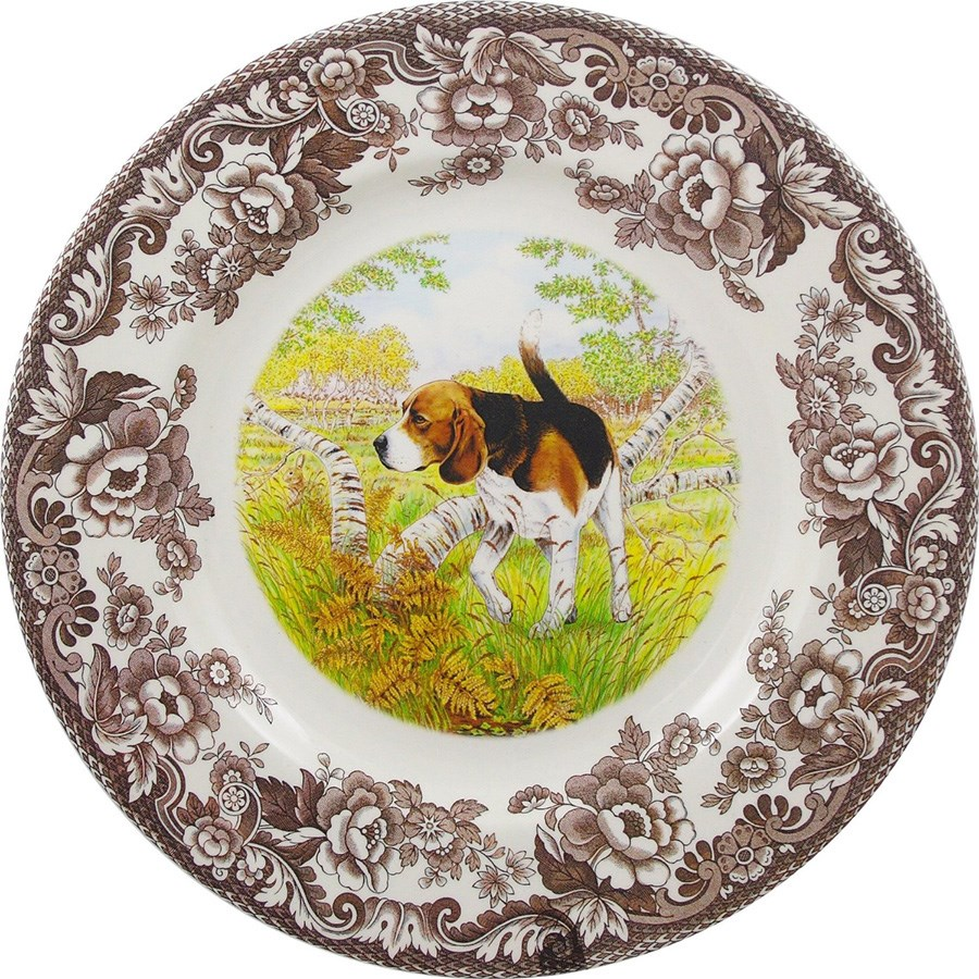 Woodland Hunting Dog Dinner Plates | More China | China | Tabletop ...