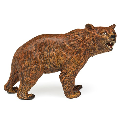 Austrian Bronze Brown Bear Figurine