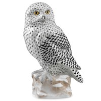 Herend Reserve Collection Snowy Owl