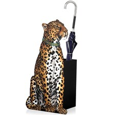 Leopard Umbrella Stand