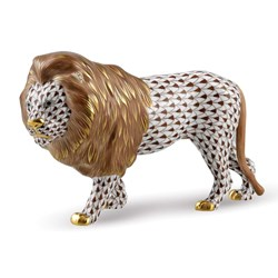 Herend Standing Lion