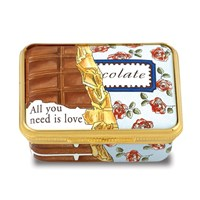 "Halcyon Days ""All You Need Is Love"" Enamel Box"
