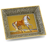 Limoges Horse Dishes
