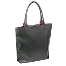 Leather Shopper Bag (Assorted Colors)