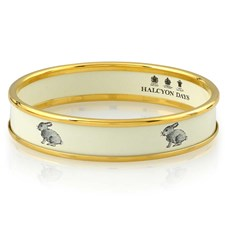 Halcyon Days Bunny on Rice Bangle