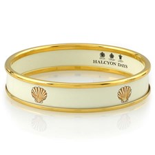 Halcyon Days Shell on Rice Bangle