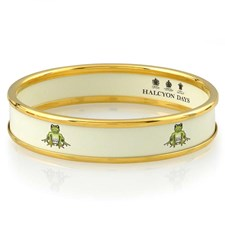 Halcyon Days Frog on Rice Bangle