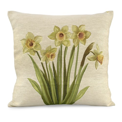 Daffodils Tapestry Pillow