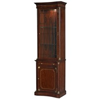Mahogany & Rosewood Display Cabinet