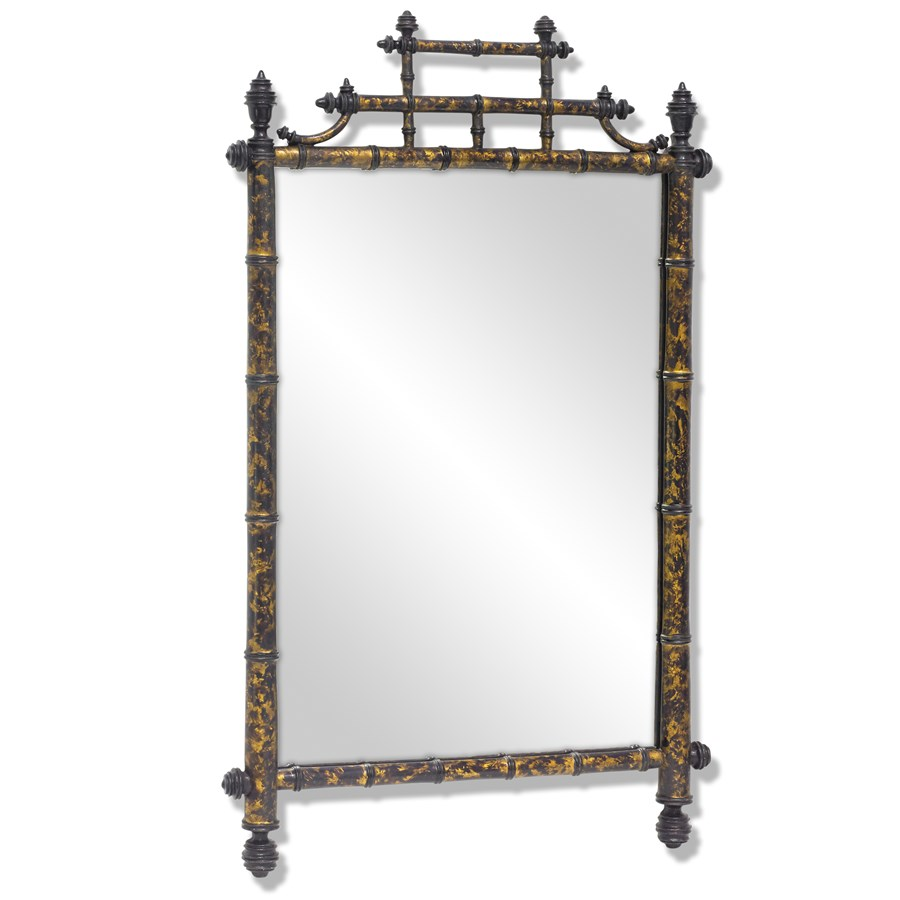 Mirrors For Home Decor: Horner Bamboo Mirror