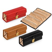 Italian Leather Wave Jewelry Case
