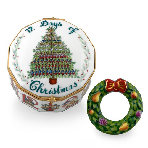 12 Days of Christmas Limoges Box