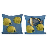 Jacquard Fish Pillows