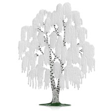 Pewter Weeping Willow Tree