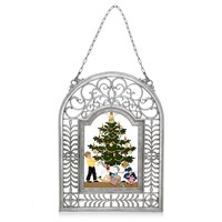 Pewter Christmas Tidings Hanging