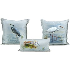 Heron Silk Pillows