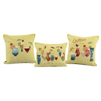 Cocktail Tapestry Pillows