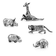 Buccellati Sterling Silver Miniature Animals