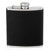 Leather-Wrapped Flasks