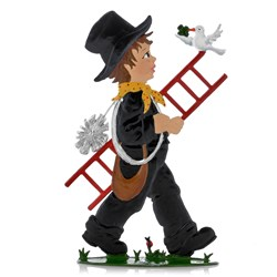 Pewter Little Chimney Sweep