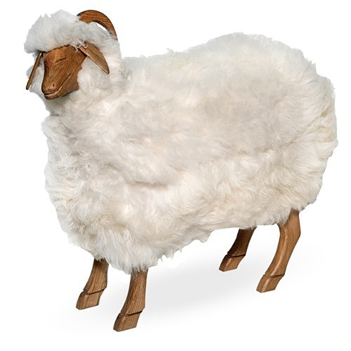 Natural Oak Sheep Footstools | Benches, Ottomans U0026 Stools | Seating |  Furniture | ScullyandScully.com Awesome Ideas