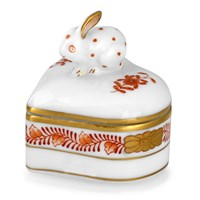 Chinese Bouquet Heart Bunny Boxes