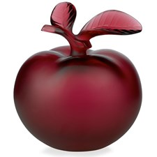Lalique Red Pomme Apple Perfume Bottle