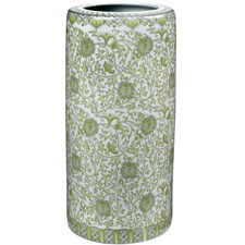 Floral Umbrella Stand, Green