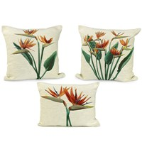 Birds of Paradise Pillows